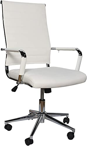 eclife Ergonomic Office Desk Chair Adjustable Conference Chair Mid-Back 360 Swivel W/Armrest - the best office desk chair for the money