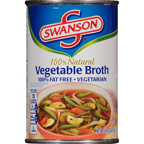 Swanson Broth, Vegetable, 14.5 Ounce (Pack of 24)