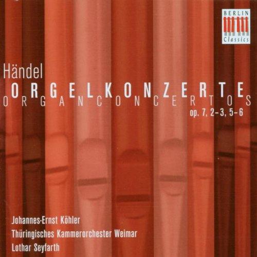- Organ Concerto Op. 7 2-3 5-6