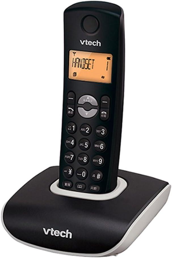 Phone Teléfono residencial inalámbrico con contestador automático, Juego de teléfono móvil Simple o Doble, Llamada con botón Grande y avanzado, Oficina Fija, teléfono Fijo Fijo Fyxd (Color : Black1): Amazon.es: Electrónica