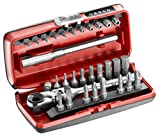 Facom R. Pej31Pb 1/4?Ratchet Bit Set 31?PZ. Size 1/4? by Facom
