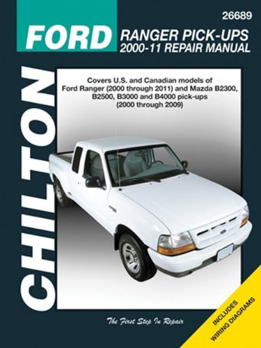 Chilton Total Car Care Ford Ranger Pick-ups 2000-2011 & Mazda B-series Pick-ups 2000-2009 (Chilton's Total Car Care Repair Manuals) by Chilton (2013-09-01)