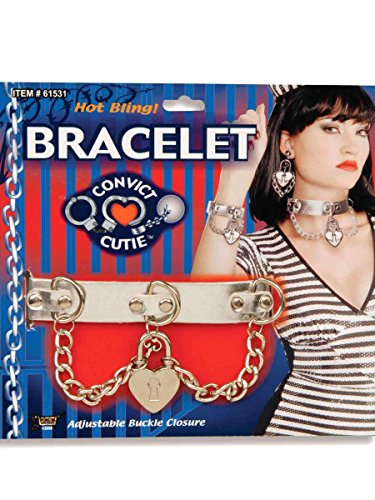 Convict Cutie Halloween Costume (Forum Novelties 61533F Convict Cutie Bracelet)
