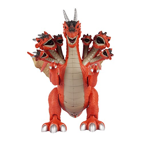 Allosaurus Dinosaur Costume (Action Packed Dinosaur Allosaurus Kid's Toy for Boys & Girls – Figure for Your Dino Collection-Educational Jurassic Action Figure, Realistic Sounds & Lights- Years 3+ (Red))