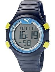 PUMA Unisex PU911261002 Faas 100 S Navy Digital Display Watch