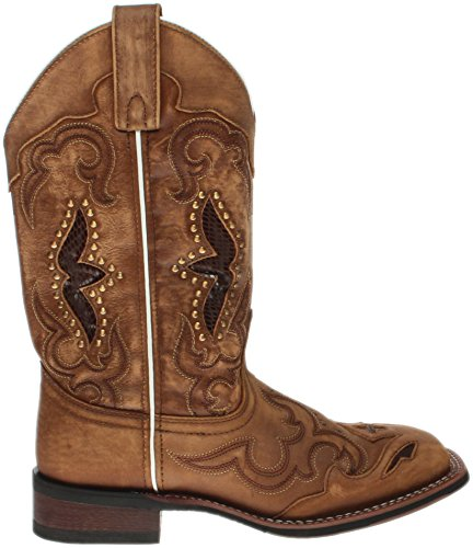 Laredo Women's Spellbound Western Boot Square Toe Tan 9 M by Laredo (Image #1)