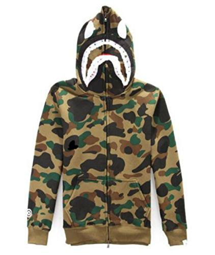 Military Suoyi Utp Coffe Full Hoodie Men's Camo Jacket Sweatshirt Hooded Top Zip qArUAxn