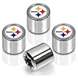 Pittsburgh Steelers Valve Stem Caps 4-Pack