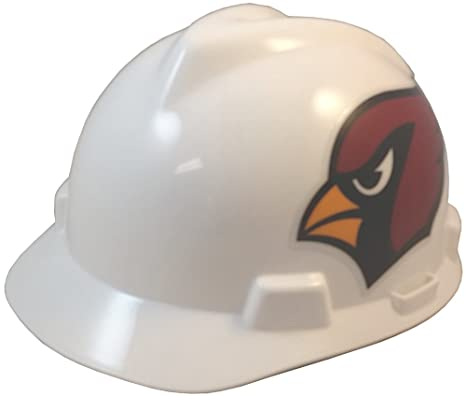 00daab59b38 Amazon.com  MSA NFL Ratchet Suspension Hardhats - Arizona Cardinals ...