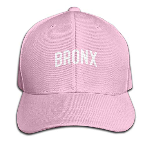 Vintage Bronx Men and Women Adjustable Baseball Cap Dad Hat Snapback Hats Pink