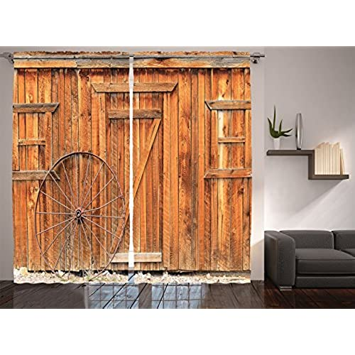 Western Curtains for Living Room Amazoncom