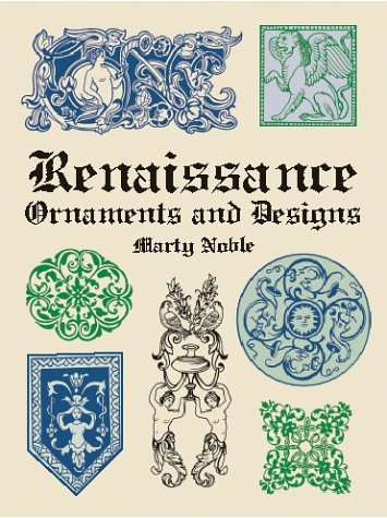 Renaissance Ornaments And Designs (Dover Pictorial Archives)