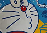 CJB Doraemon Blue Water Resistant Kids School Art Paint Smock Bib Apron with Muff Sleeves (US Seller)