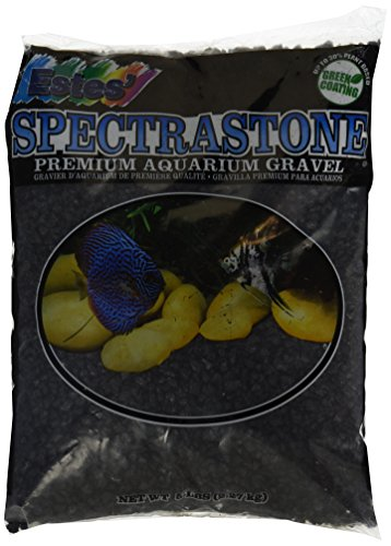 Spectrastone Special Black Aquarium Gravel for Freshwater Aquariums, 5-Pound Bag by Spectrastone