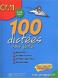 100 dictées sans faute CM1 : 9/10