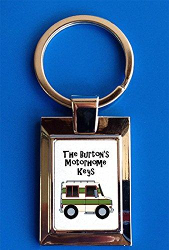 Personalised Motorhome Campervan Keys Gift Keyring: Amazon.co.uk: Kitchen & Home