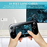Wired Infrared Sensor Bar Compatible Nintendo Wii and Wii U with USB Charging Cable, AFUNTA 8.5ft IR Ray Motion Controller, with 10ft USB Charger Cord