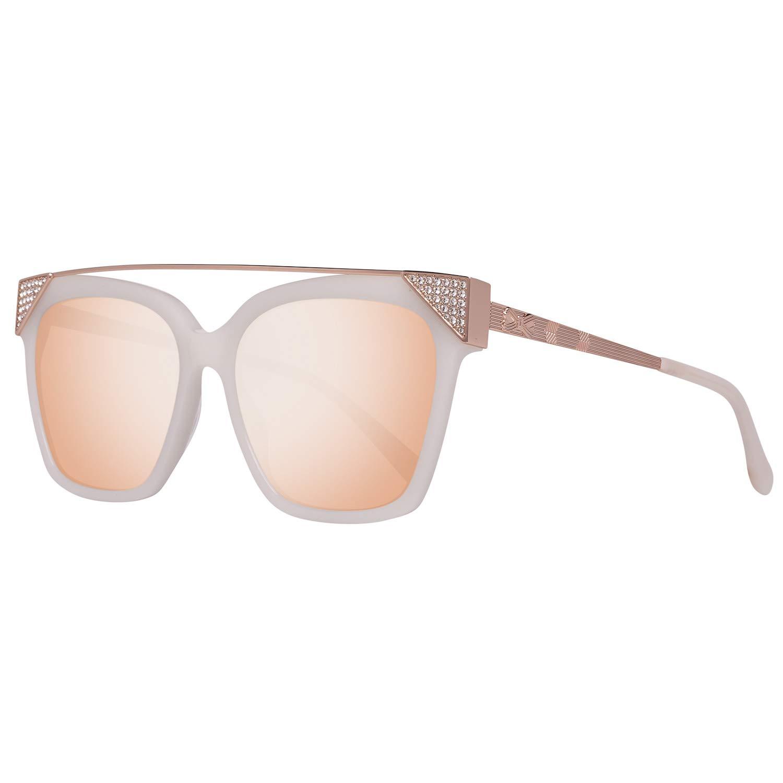 Ted Baker Dawn Gafas de sol, Marfil (Ivory), 56 para Mujer