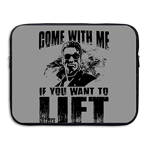 XJBD Come With Me If You Want To Lift Shock-Resistant Tablet Sleeve Bag Case 13-15 Inch