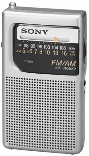 Amazon sony icf s10mk2 pocket amfm radio silver home audio sony icf s10mk2 pocket amfm radio silver sciox Image collections