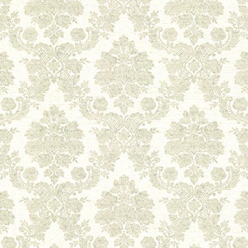 (Mirage 2601-20863 Marsden Damask Wallpaper, Mint )