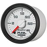 Auto Meter 8560 Factory Match 2-1/16'' 0-30 PSI Fuel Pressure for Dodge