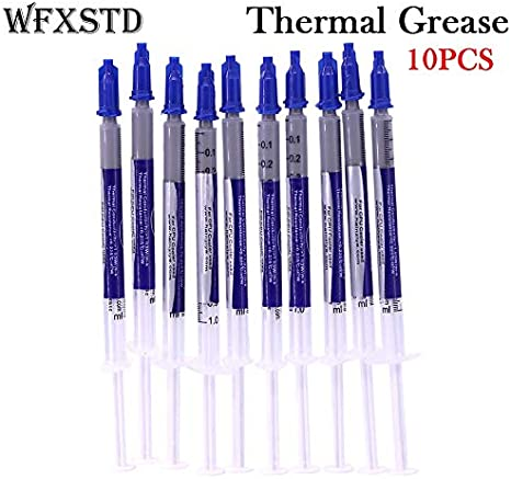 10PCS Thermal Grease Paste Compound Silicon Scraper CPU HeatSink Cooling