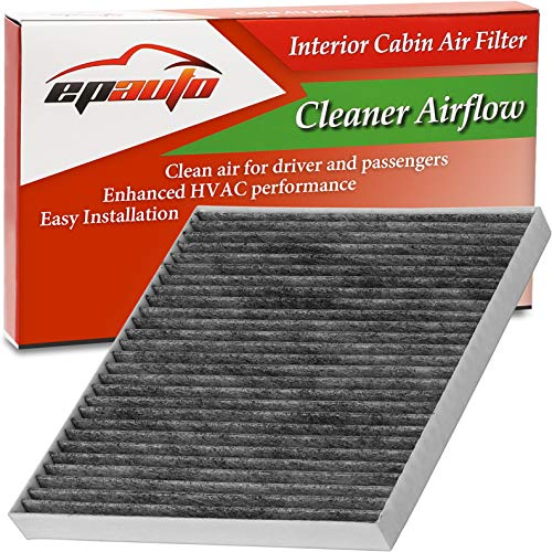 2005 Kia Sportage Air - EPAuto CP709 (CF10709) Replacement for Hyundai/KIA Premium Cabin Air Filter includes Activated Carbon