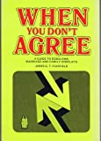 img - for When You Don't Agree book / textbook / text book