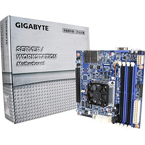Gigabyte Motherboard MB10-DS1 Xeon D-1521 SoC FCBGA 1667 DDR4 SATA PCI Express Mini-ITX ()