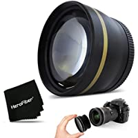 PRO 58mm 2X TELEPHOTO Lens Attachment for all 58mm Lenses and for CANON EOS REBEL T6i T6S T5 T5i T4i T3 T3i T2i T1i EOS M EOS M2 EOS 70D 60d 60Da 7D 6D 5D 7D Mark II EOS 750D 700D 650D 600D 550D Basic Intro Review Image