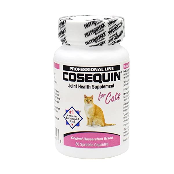 Cat Health Products Nutramax Cosequin Capsules, 80 Count [tag]