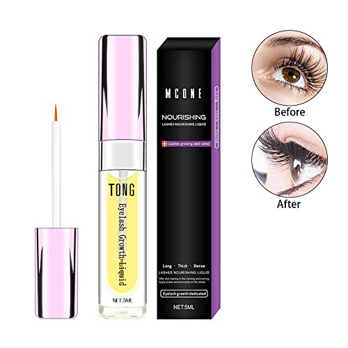 Organics Eyelash Growth Serum, for Longer, Thicker, Enhancer Eyelash and Eyebrow, wt.5ml