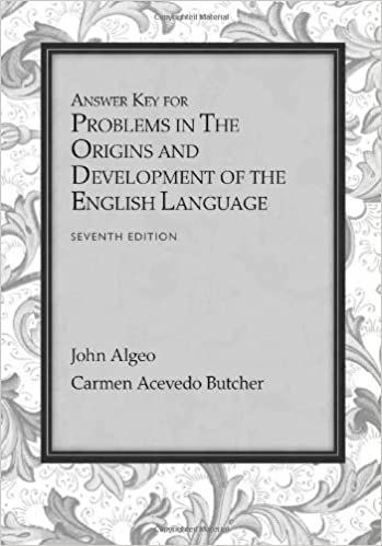 Amazon answer key for problems for algeobutchers the origins answer key for problems for algeobutchers the origins and development of the english language 7th 7th edition fandeluxe Image collections