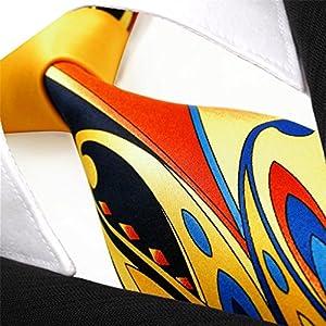 5391706627e8 Shlax & Wing Mens Neckties Ties Printed Geometric Multicolor Silk New