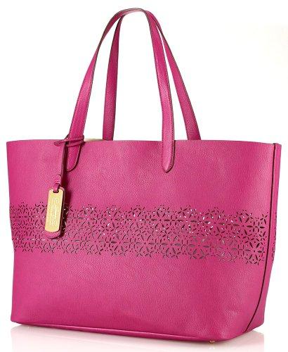 Ralph Lauren Chantilly Classic Tote in - Ralph Lauren Tote Pink