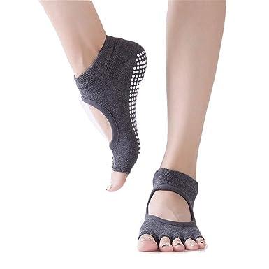 Calcetines Antideslizantes De Yoga Mujeres Para Calcetines ...