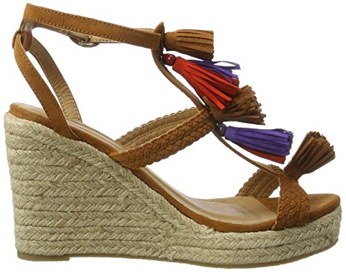 A75 Bhwmd Shoes con 315791 Buffalo 01 Suede Marrone Imi Tan Sandali Donna Zeppa wgqUCR