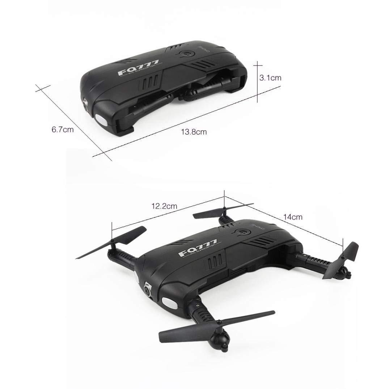 LCLrute Drohne FQ777 FQ05 6-Achsen-Gyro 6-Achsen-Gyro 6-Achsen-Gyro 2.0MP WiFi FPV-Drohnenkamera Selfie Faltbarer Quadcopter (B) 20f2f2