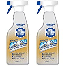 Bar Keepers Friend MORE Dual Action Nozzle Spray and Foam Cleaner   25.4 Ounces   2-Pack