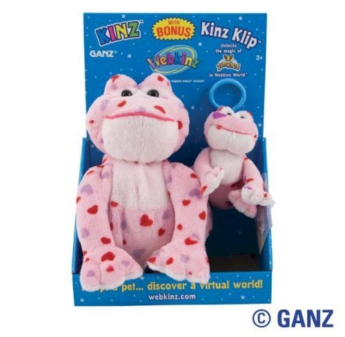 Clip Kinz Klip (Webkinz Love Frog Kinz & Klip in Box)
