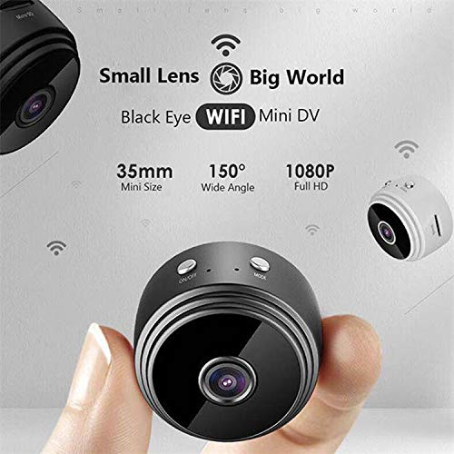 Amazon.com : Mini Spy Camera, Wireless, Hidden Spy Camera High Def, HD 1080P with WiFi, Small & Hidden Security Camera/Nanny Cam, Built-in Battery, ...