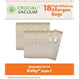 Crucial Vacuum Kirby Style F Paper Vacuum Cleaner Bags (18 Pack)