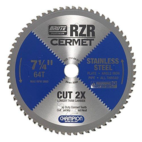 Champion Cutting Tool Corp Circular Saw Blade 7-1/4