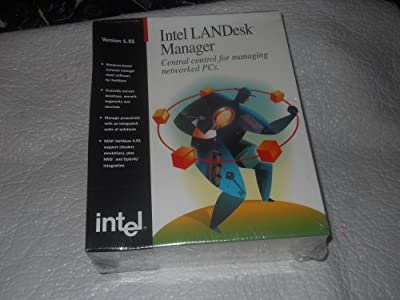 "Intel Landesk TM Manageer Version 1.51 Local Network Management For Centralized Network Management 3.5"" Diskettes. No CD"