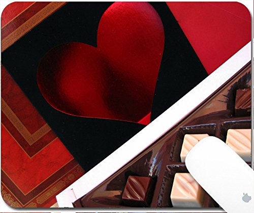 Luxlady Gaming Mousepad bonbon made of chocolate 9.25in X 7.25in IMAGE: 3414475