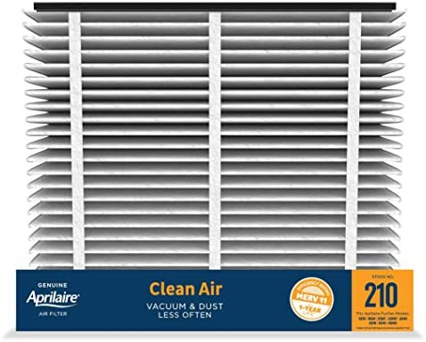 Aprilaire – 210 A2 210 Replacement Air Filter for Whole Home Air Purifiers, Clean Air Dust Filter, MERV 11 (Pack of 2)