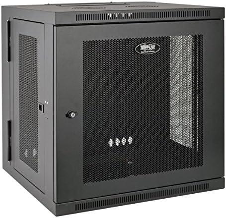 Tripp Lite 12U Wall Mount Rack Enclosure Server Cabinet, Hinged, 20.5″ Deep, Switch-Depth (SRW12US)