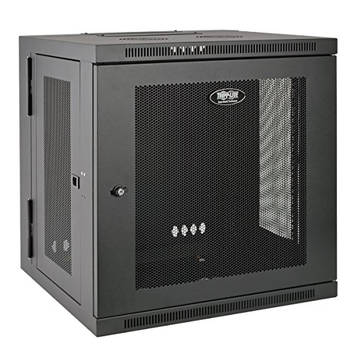 Tripp Lite 12U Wall Mount Rack Enclosure Server Cabinet, Hinged, 20.5'' Deep, Switch-Depth (SRW12US) by Tripp Lite