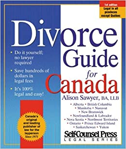 Divorce guide for canada alison sawyer 0069635804438 books divorce guide for canada alison sawyer 0069635804438 books amazon solutioingenieria Images